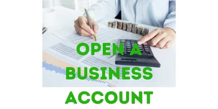 Opening A Bank Account for Business