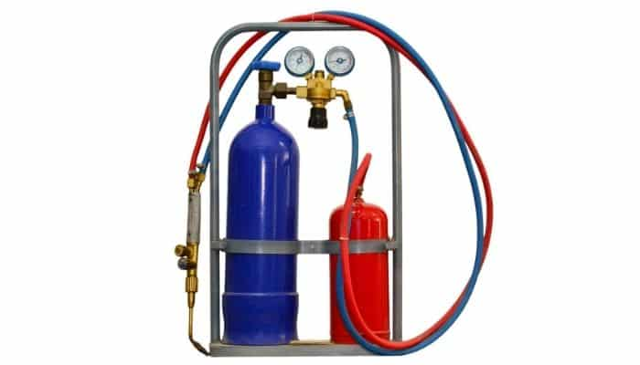Oxy Acetylene Torch with Cylinders